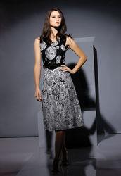 NEW WITH TAG STYLISH SMART PRINT DRESS SIZE 10-12