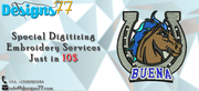What if you get the Embroidery Digitizing Services only for $10?